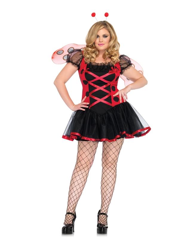 Lady Bug Adult Womens Plus Size Costume
