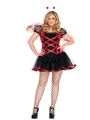 Lady Bug Adult Womens Plus Size Costume