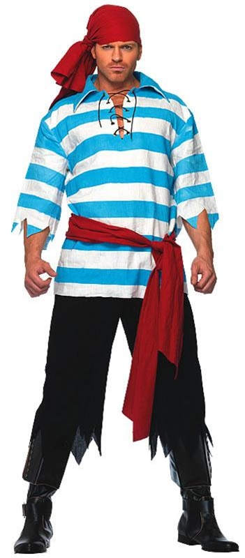 Pillaging Pirate Plus Size Adult Mens Costume