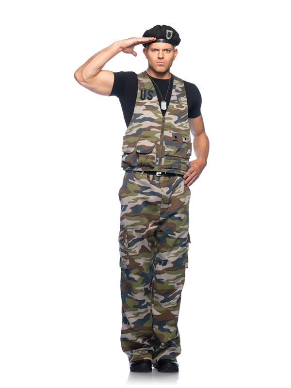 4pc Special Officer Adult Costume