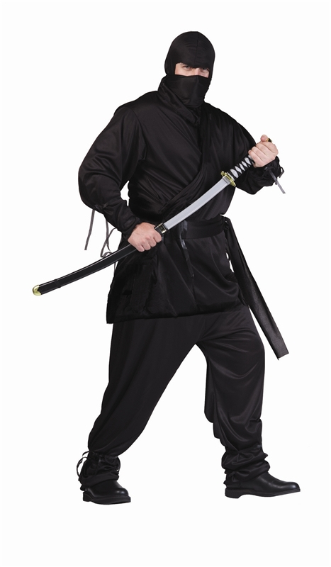 Ninja Plus Size Adult Mens Costume