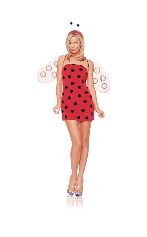 Ladybug Sexy Adult Womens Costume