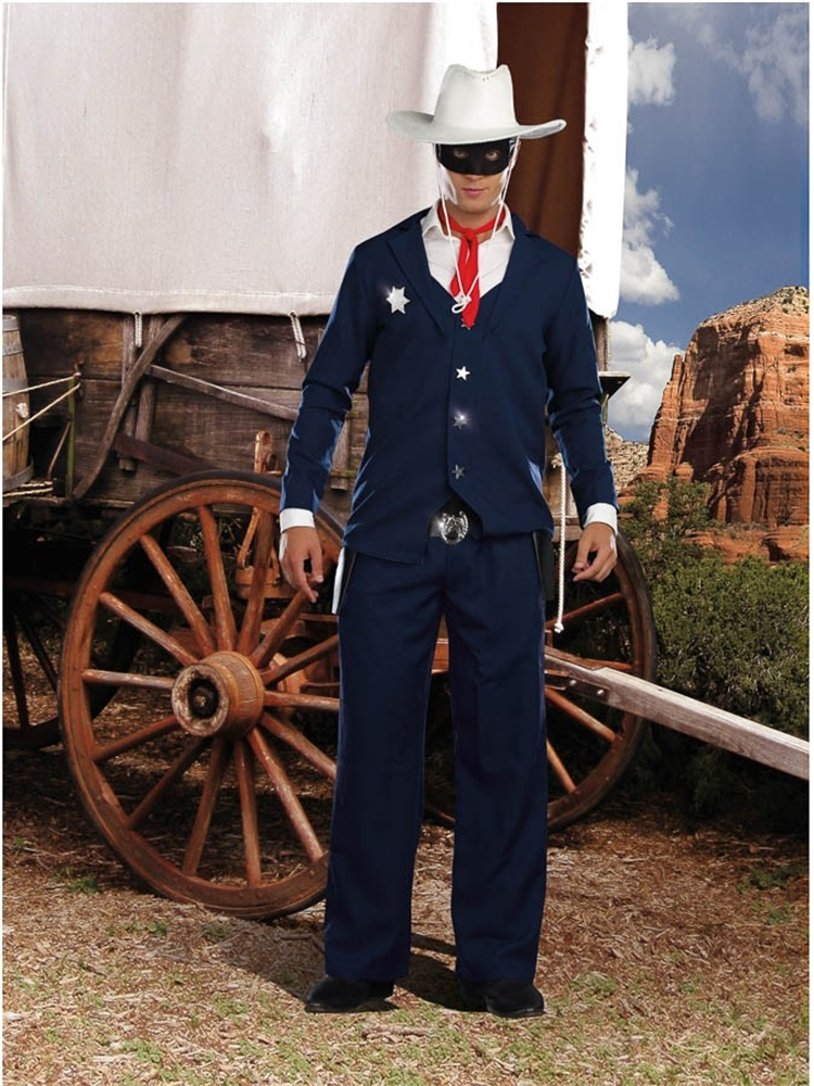 Lone Cowboy Adult Men Costume