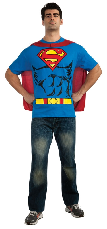 Superman T-Shirt Adult Mens Costume