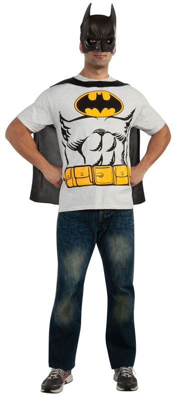 Batman T-Shirt Adult Mens Costume