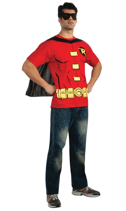 Robin T-Shirt Adult Mens Costume