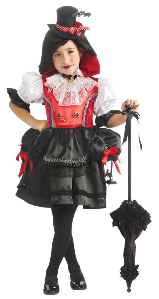 Contessa Girls Vampire Costume (Girl Vampire Costume)