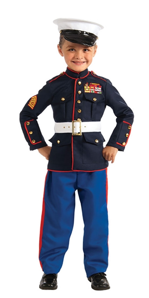 Marine Dress Blues Child Costume