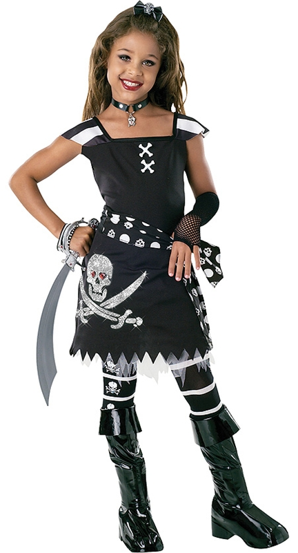 Scar-let Drama Queen Child Costume