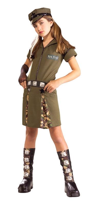 Major Flirt Drama Queens Child Costume - 130829   trendyhalloween.com