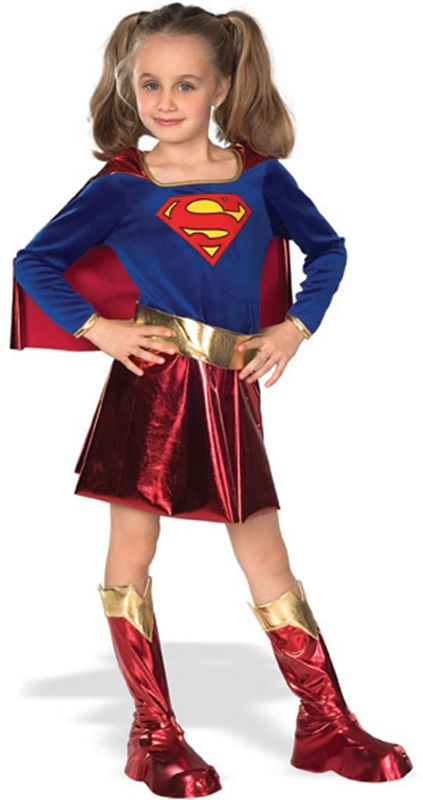 Deluxe Supergirl Child Costume