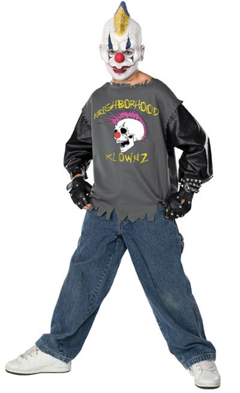 Clown Spike Teen Deluxe Costume
