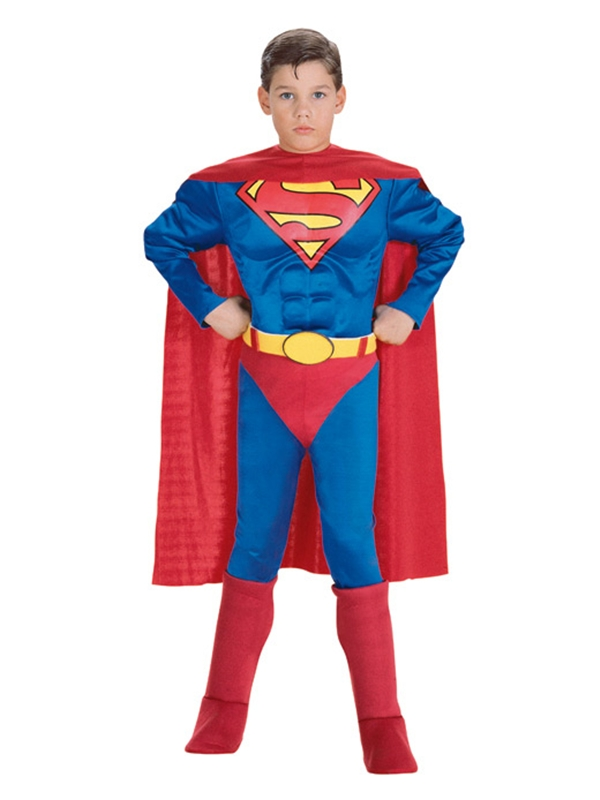 Deluxe Superman Muscle Chest Child Costume