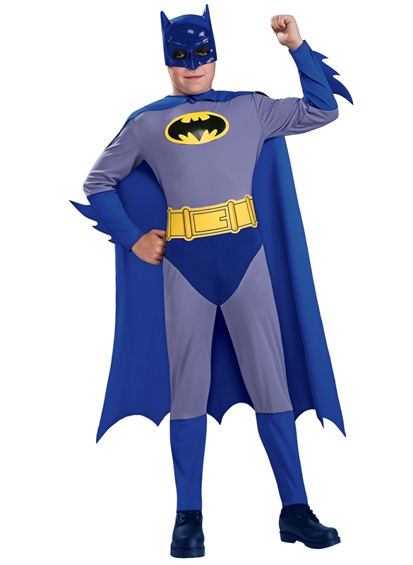 Batman Grey/Blue Eco Child Costume