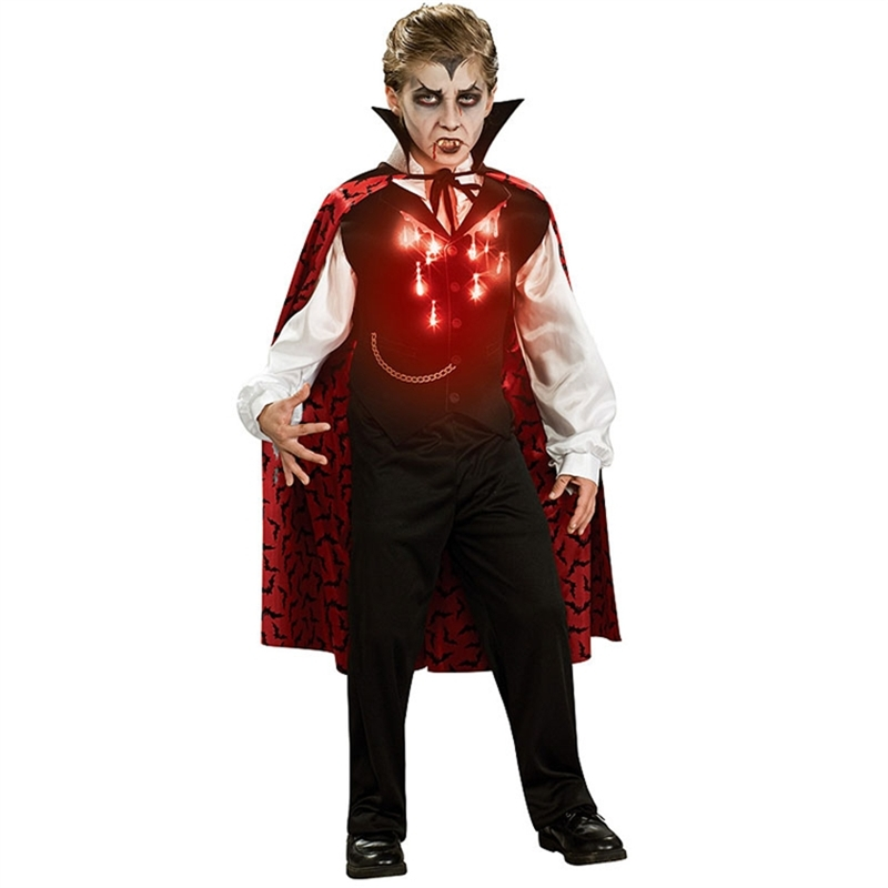 Vampire Fiber Optic Child Costume