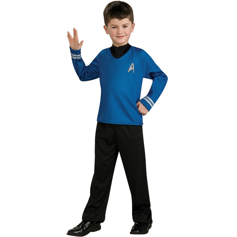 Star Trek Movie Spock Shirt Child Costume