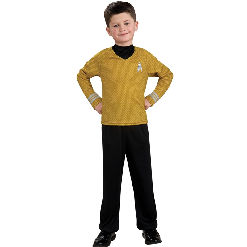Star Trek Movie Captain Kirk Shirt Child Costume