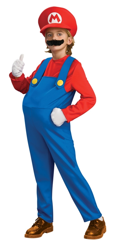 Deluxe Mario Brothers Mario Child Costume
