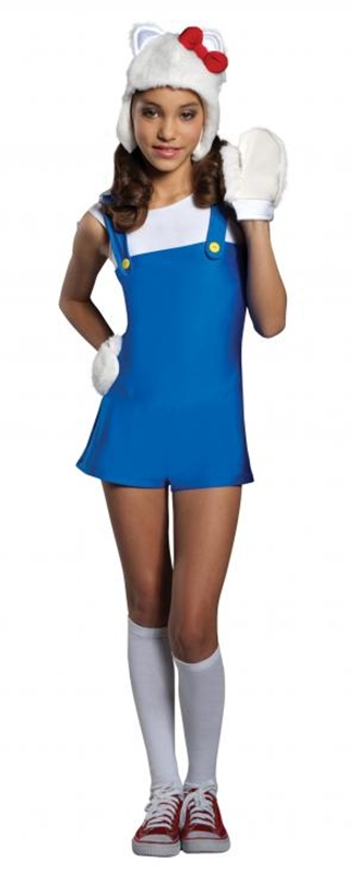 Hello Kitty Blue Romper Child Costume
