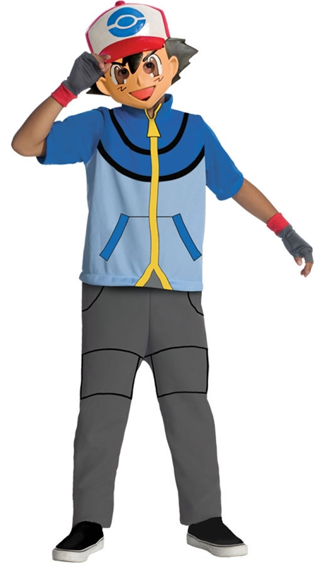 Ash Ketchum Child Costume