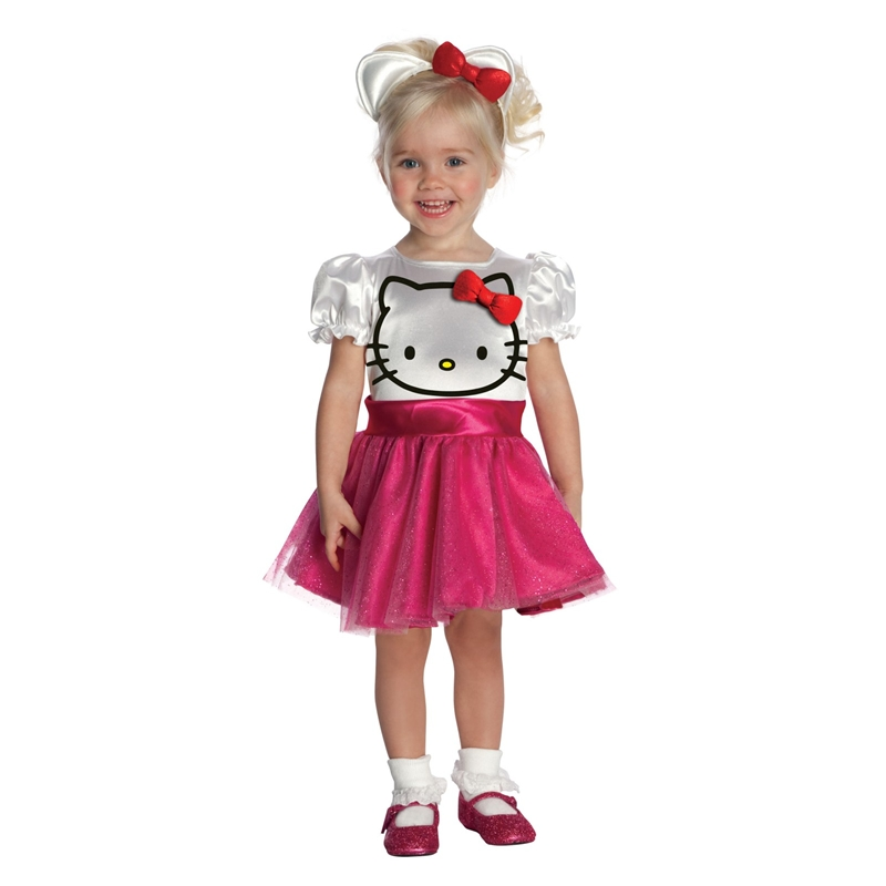 Hello Kitty Face Tutu Dress Toddler Costume