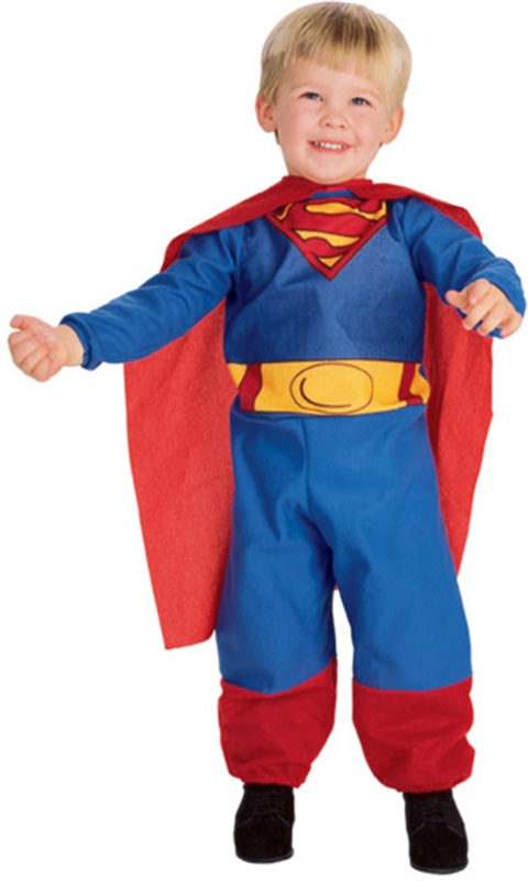 Superman Infant & Toddler Costume (Superman Infant And Toddler Costume)