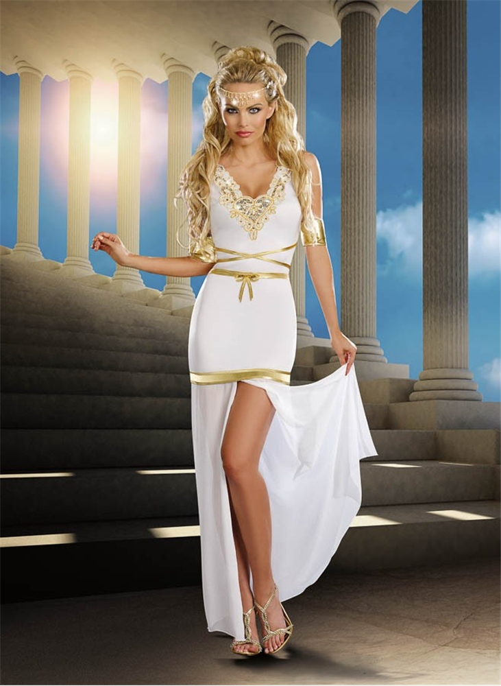 Goddess Of Love Aphrodite Adult Women Costume
