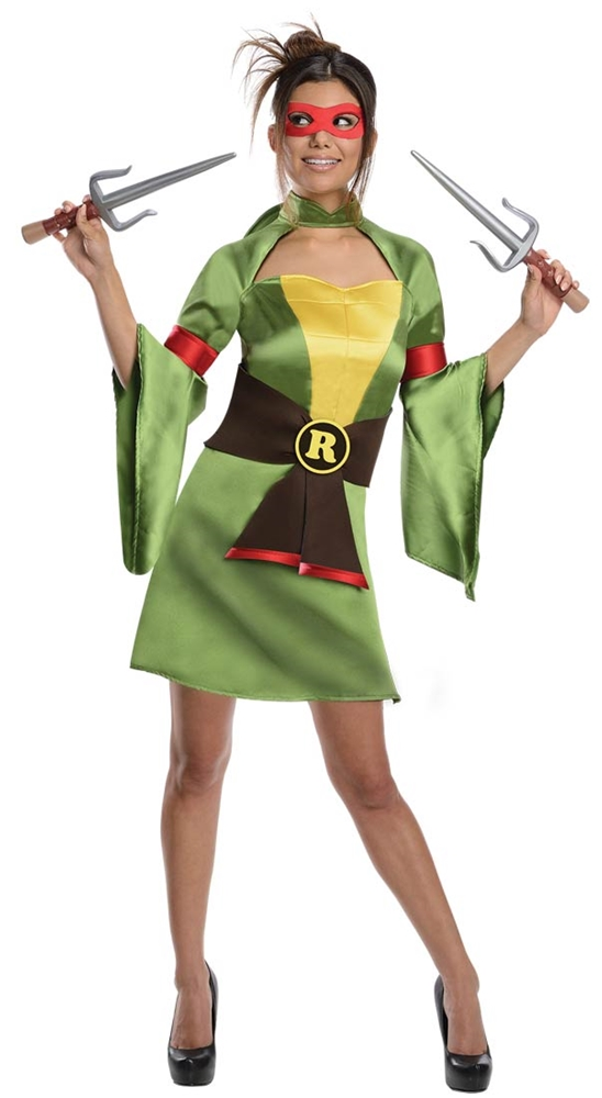 Teenage Mutant Ninja Turtles Geisha Raphael Costume 887254