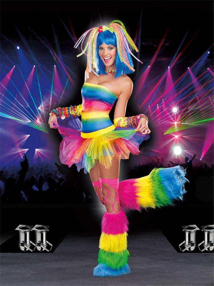Kandi Kid Adult Womens Costume