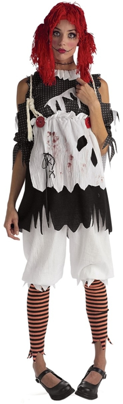 Rag Doll Girl Adult Womens Costume
