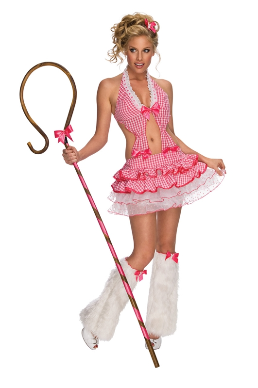 Sexy Bo Peep Shepherdess Adult Costume