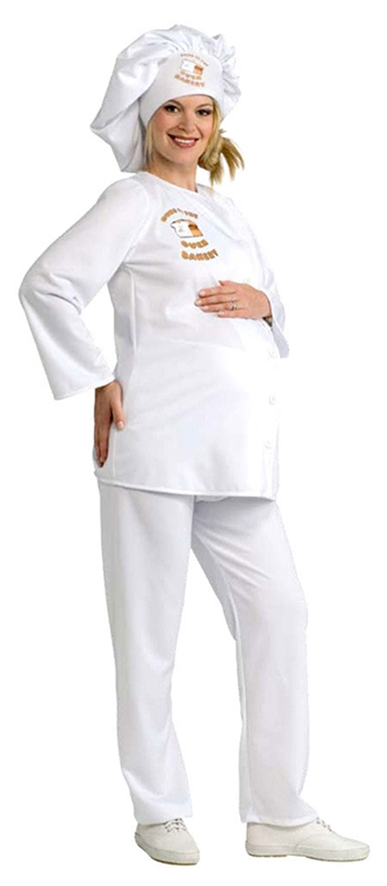 Maternity Baker Adult Costume