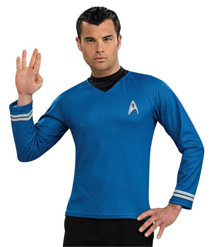 Star Trek Movie Spock Shirt Adult Mens Costume