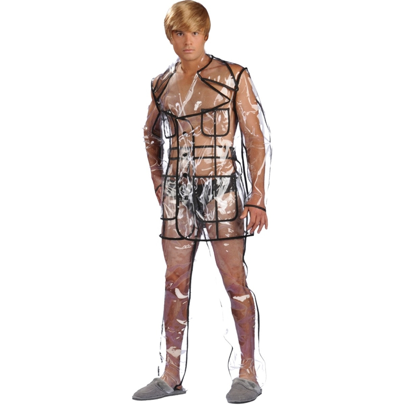 Bruno Clear Vinyl Suit Adult Costume