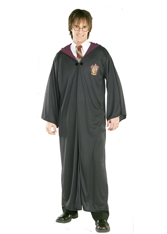 [Harry Potter Robe Adult Mens Costume] (Harry Potter Costumes Robe)
