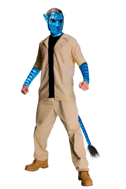 Avatar Jake Sully Economy Adult  Costume