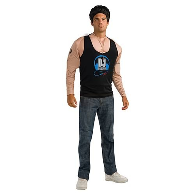 Jersey Shore Deluxe Pauly D Muscle Costume
