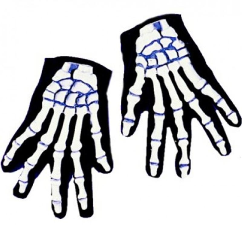 Skeleton Adult Gloves