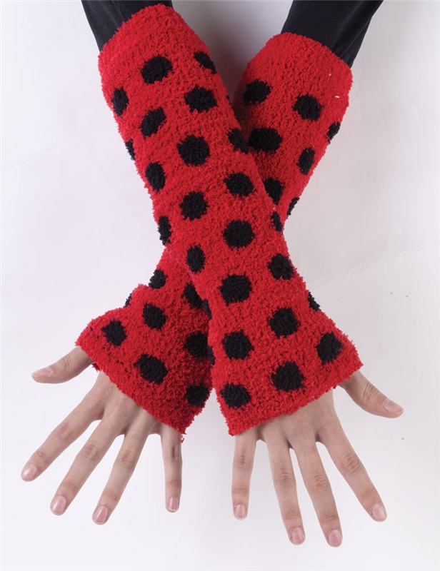 Image of Lady Bug Arm/Leg Warmers