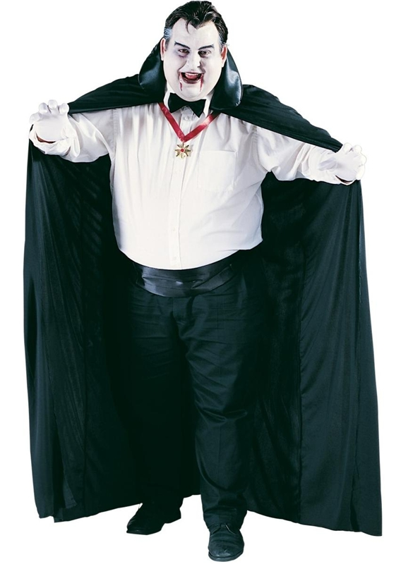 Dracula Plus Size Adult Mens Cape