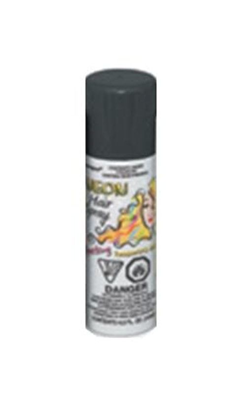 Black Neon Hair Spray