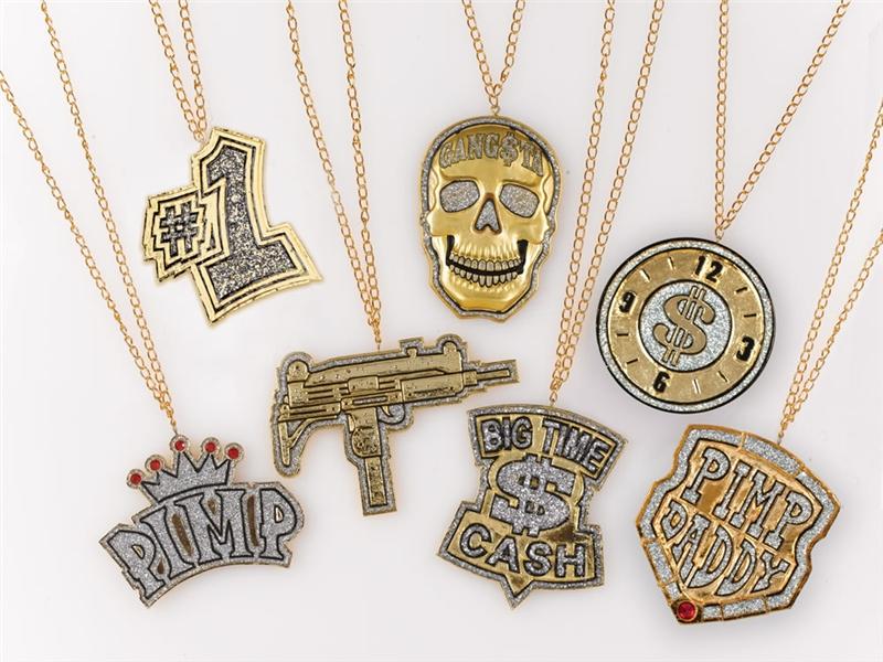 Rapper Medallion (Assortment)