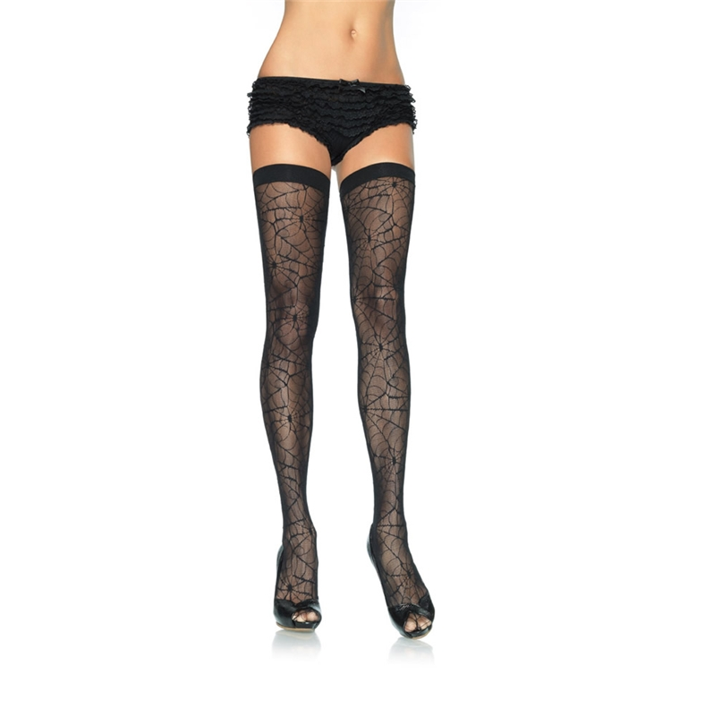 Spider Web Thigh High by Leg Avenue