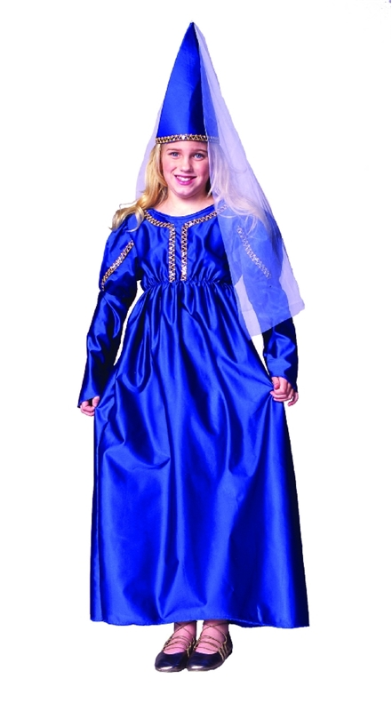 Medieval Princess Child Costume