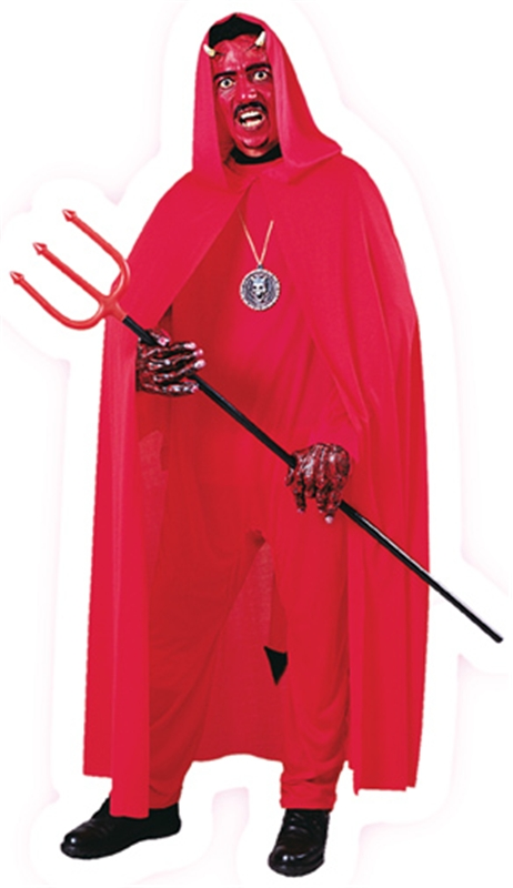 Red Hooded Adult Cape