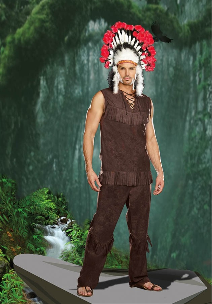 Chief Long Arrow Adult Mens Costume