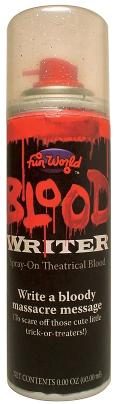 Blood Writer Spray Can
