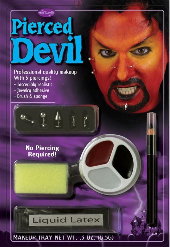 Pierced Devil Makeup by Fun World
