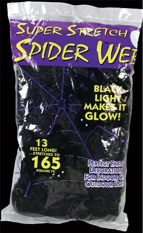 Spider Web Black 1.75oz by Fun World