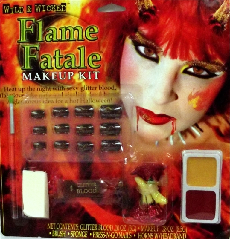 Flame Devil Makeup Kit